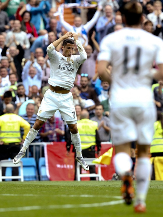 Real Madrid 3 x 0 Levante - La Liga 2015/16