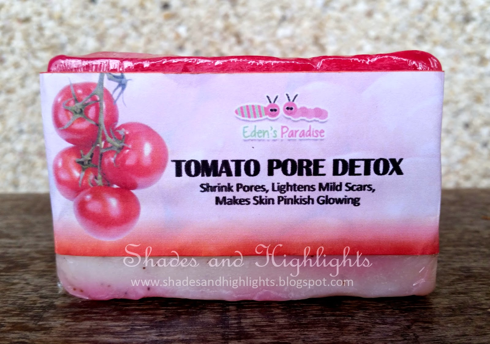 Eden's Paradise Tomato Pore Detox Soap Review