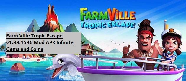 Farm Ville Tropic Escape v1.38.1536 Mod APK Infinite Gems and Coins