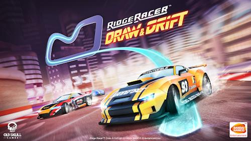 Baixar Ridge Racer Draw And Drift v1.0 Apk+Data Mod (Moedas Ilimtada)