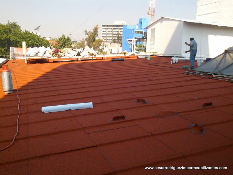 Impermeabilizaci n garantizada de azoteas y techos for Impermeabilizante para estanques de agua