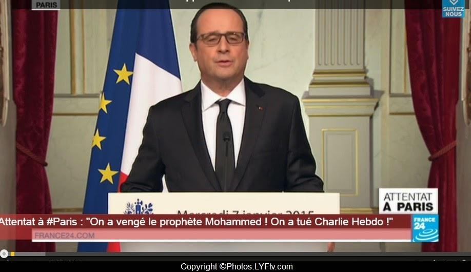 François+Hollande+Attentat+Charlie+Hebdo+janvier+2015