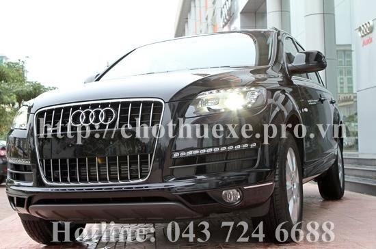 cho thuê xe 7 chỗ VIP Audi Q7