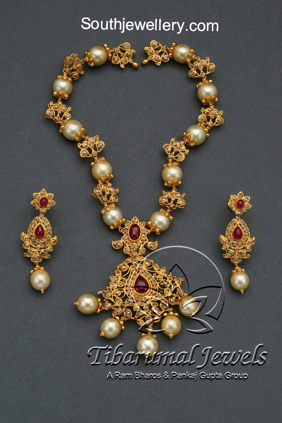 uncut diamond necklace designs
