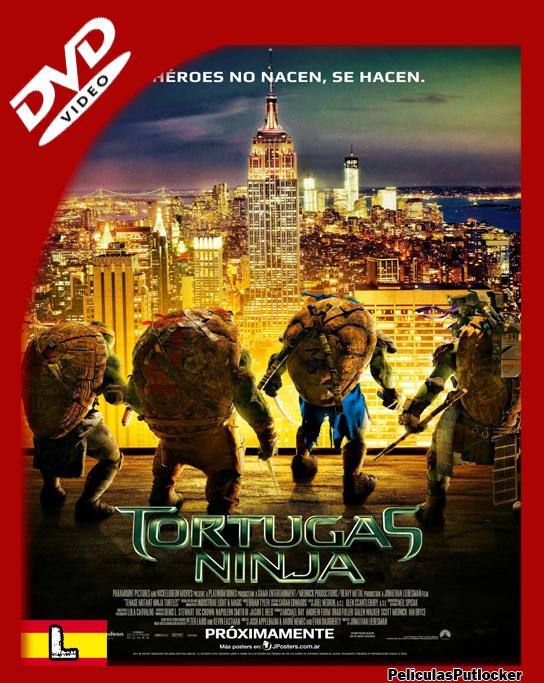 Las Tortugas Ninja [DVDRip][Latino][SD-MG-1F]
