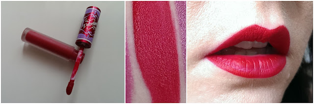 Lime crime velvetine in red velvet