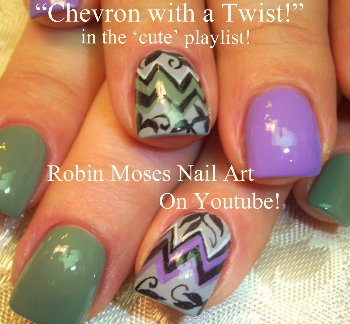 "Robin Moses Nail Art Designs: Robin Moses Nail Art: ""nail Art"" ""chevron Nails"" ""nail Art"