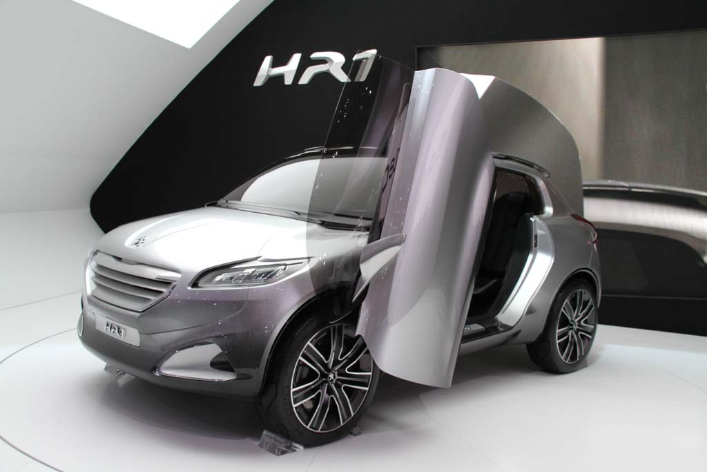New Cars Models  Peugeot HR1 Concept Paris Motor Show
