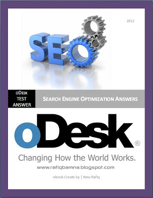 oDesk SEO Test Answers 2012