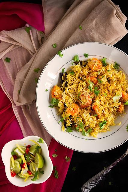 bengali chingri polao recipe