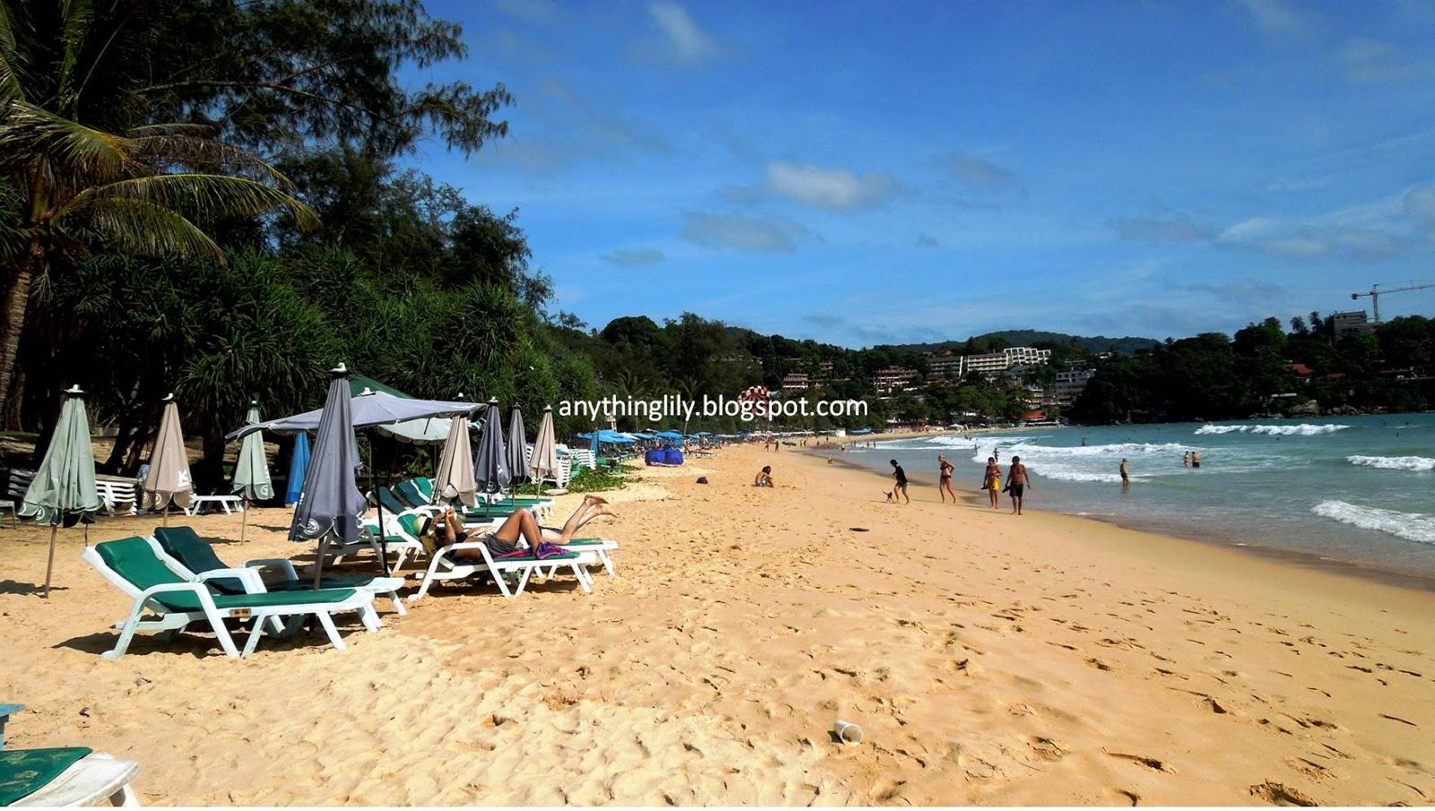 Пляж ката карон фото