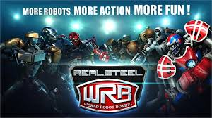 Free Download Real Steel World Robot Boxing Apk Mod Terbaru 2015