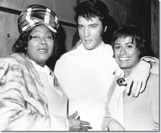 Mahalia Jackson Elvis and Barbara Mcnair