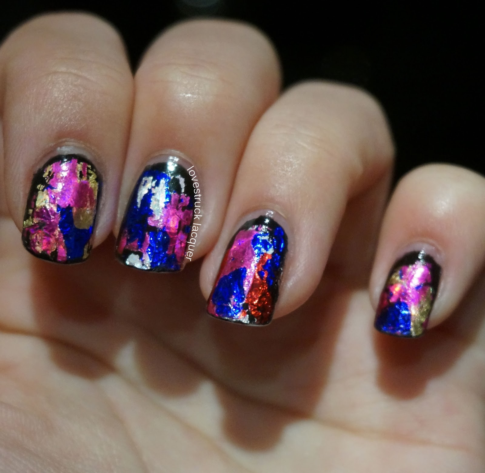 Lovestruck Lacquer: New Years Nails - Ciate Very Colourfoil Kit ...