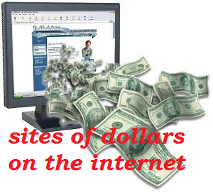 List of sites on the internet moneymaker. Daftar situs penghasil uang di internet.