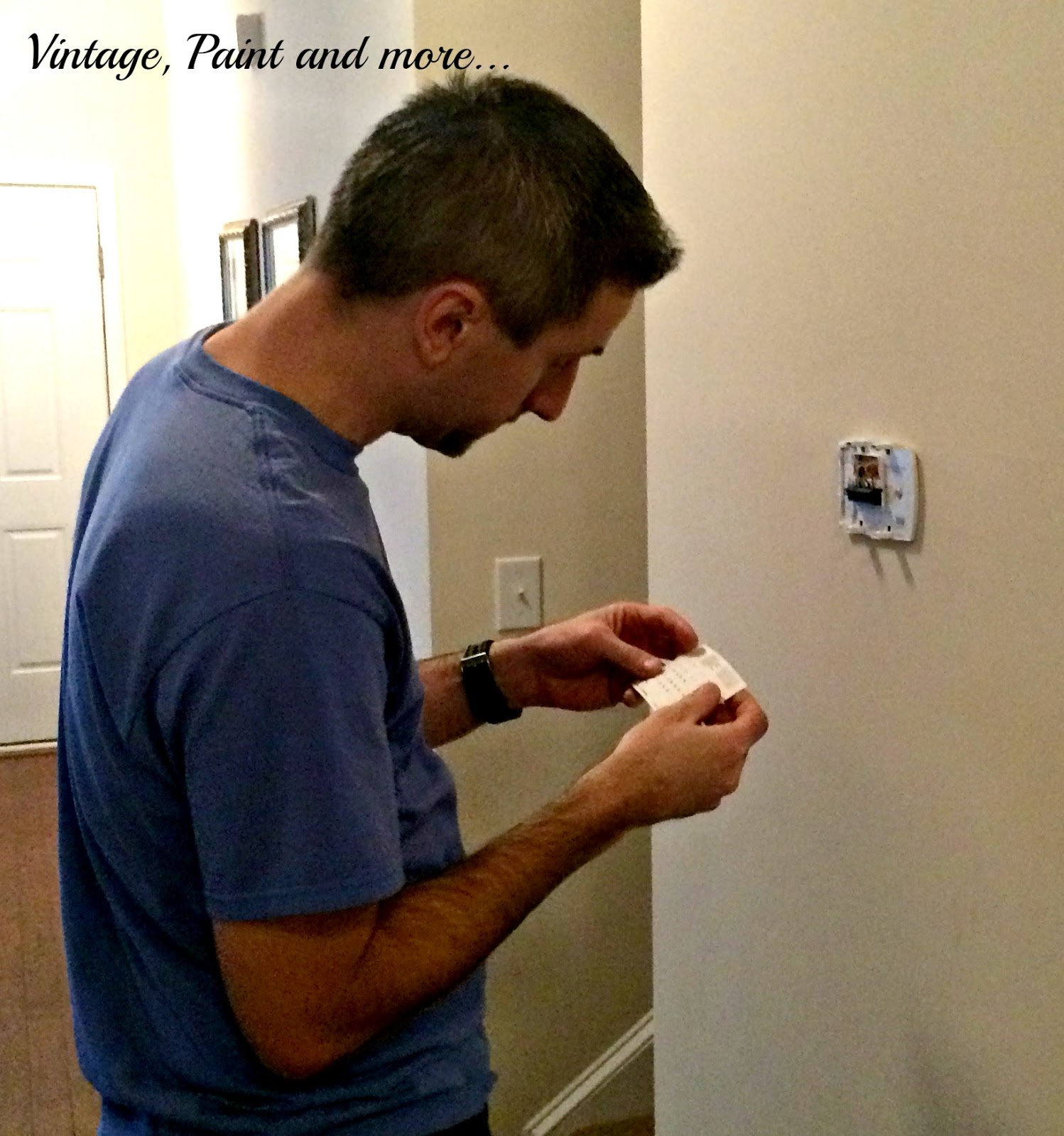 Vintage, Paint and more... Honeywell Smart Thermostat