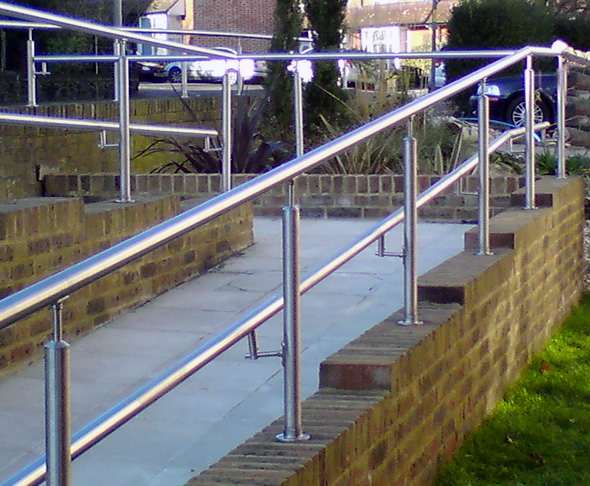 Out Door Stainless Steel Handrail System