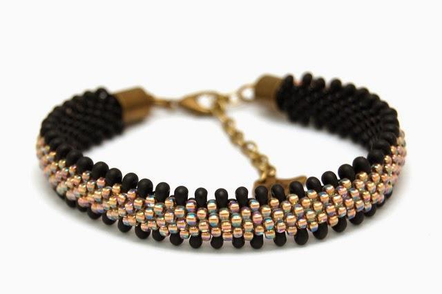 bransoletka koralikowa bead crochet bracelet inati zare 23
