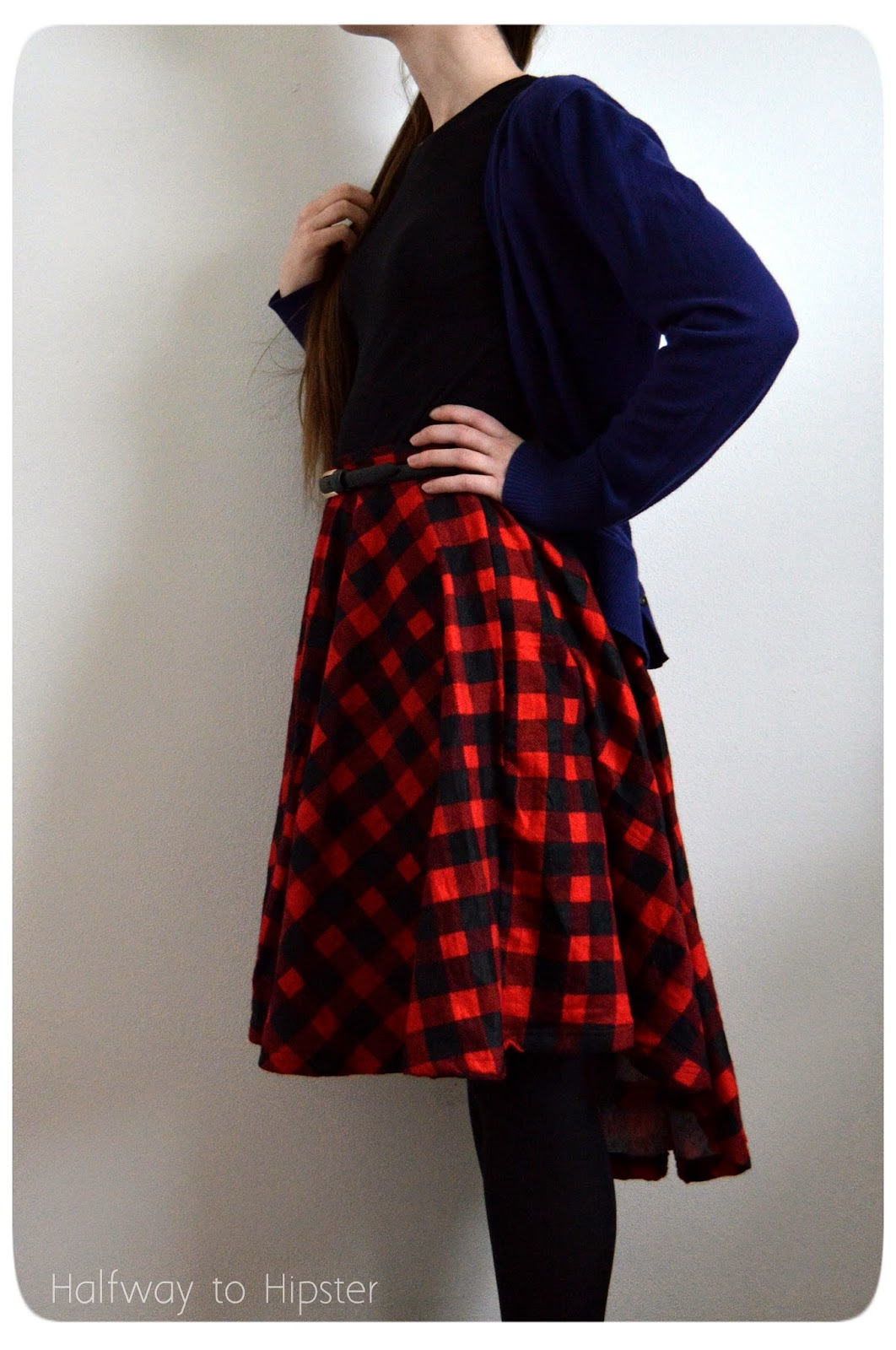 DIY Hi-Lo Circle Skirt