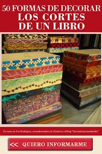 OTROS CURSOS ONLINE DE ENCUADERNACIÓN