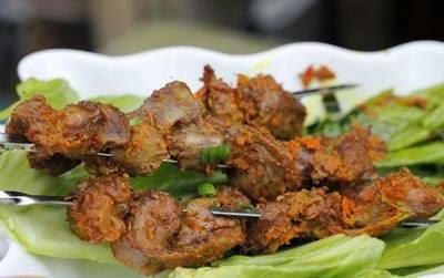 Vietnamese Chicken Recipes - Mề Gà Nướng Nghệ