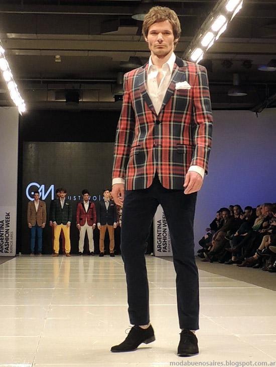 Gustavo Moscoso Moda Hombres 2015.