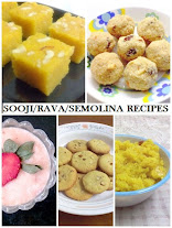 Sooji/ rava recipes