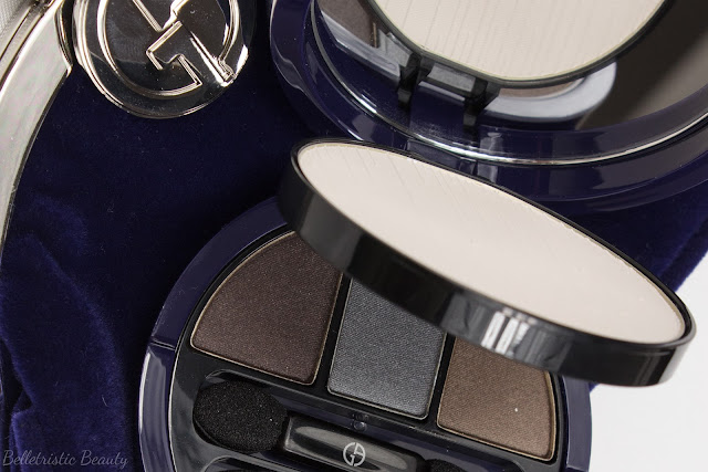 Giorgio Armani Orient Excess Clutch and Midnight Glow Powder Palette Mink Eyeshadow Trio, Orient Excess Holiday 2014 Collection