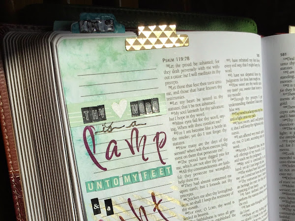 Journaling Bible | Psalm 119:105