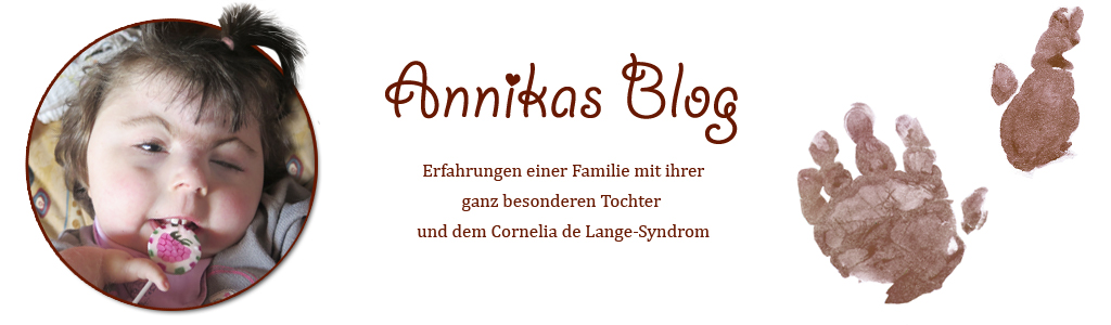 Mausbeere Annikas Blog / Cornelia de Lange - Syndrom / CdLS
