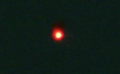 Orange Glowing Orb Spotted Hovering Over Moscow Russia