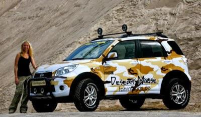 Modifikasi Mobil Terios Offroad