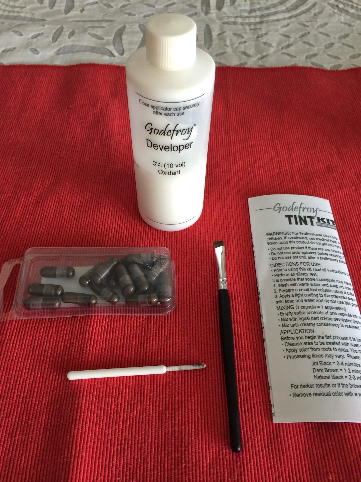 Beauty And Fashion Lover Review On Godefroy Eyebrow Tint For Spot