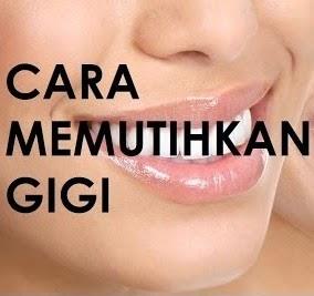 Makalah Kita Semua - Gaya Hidup Sehat hari ini - Memutihkan Gigi Tanpa Pasta Gigi