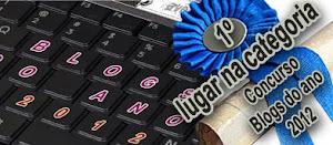 1º lugar no Concurso Nacional de Blogues (2012) - Categoria Banda Desenhada