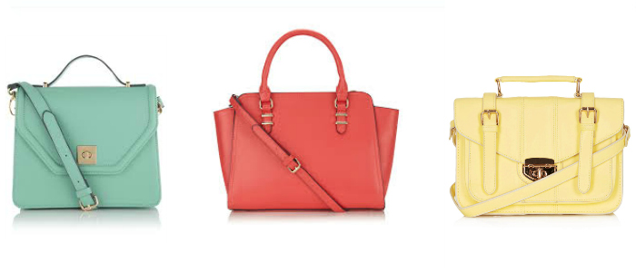 Bright Candy Coloured Handbags