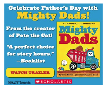 http://www.amazon.com/Mighty-Dads-Joan-Holub/dp/0545609682/ref=sr_1_1_title_0_main?s=books&ie=UTF8&qid=1389317753&sr=1-1&keywords=mighty+dads