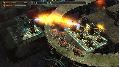 Uno de los mapas del juego Defense Grid The Awakening