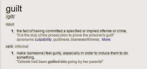 without guilt synonym