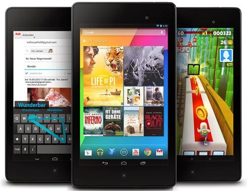 Nexus 7 và 10 được lên Android 4.4