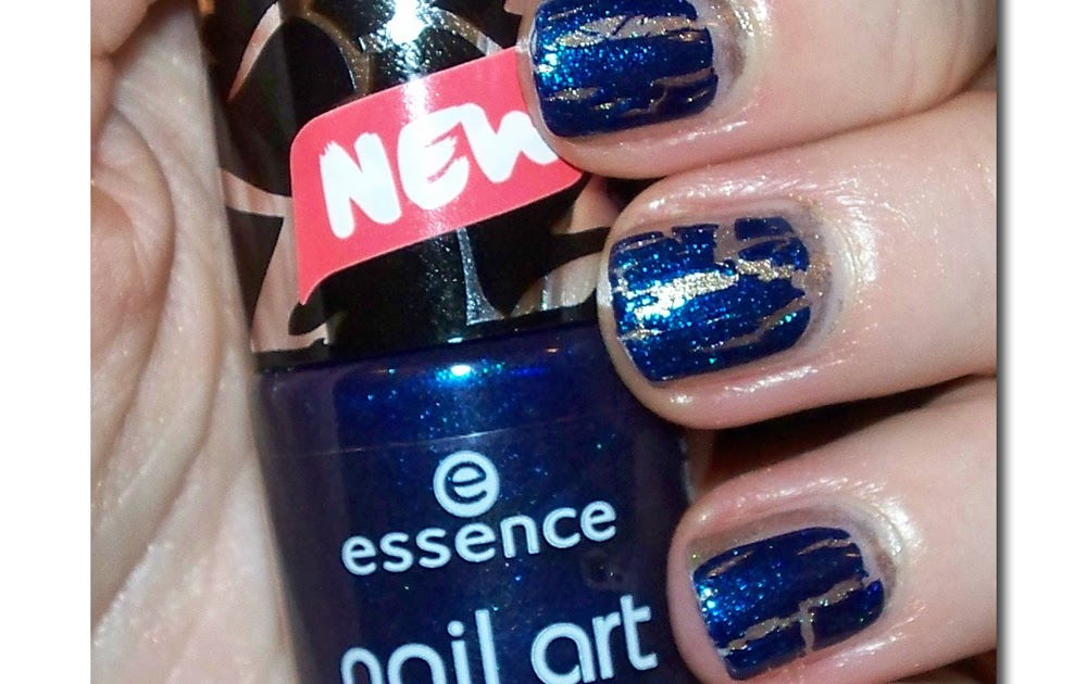Trench Collection by Sonia Verardo: Nail Art Cracking Top Coat Nail ...