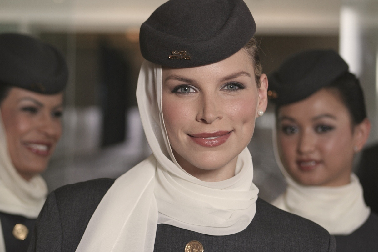 Images For > Emirates Stewardess Uniform