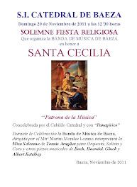 SANTA CECILIA 2010 - MISA EN HONOR A SANTA CECILIA - BANDA DE MÚSICA DE BAEZA