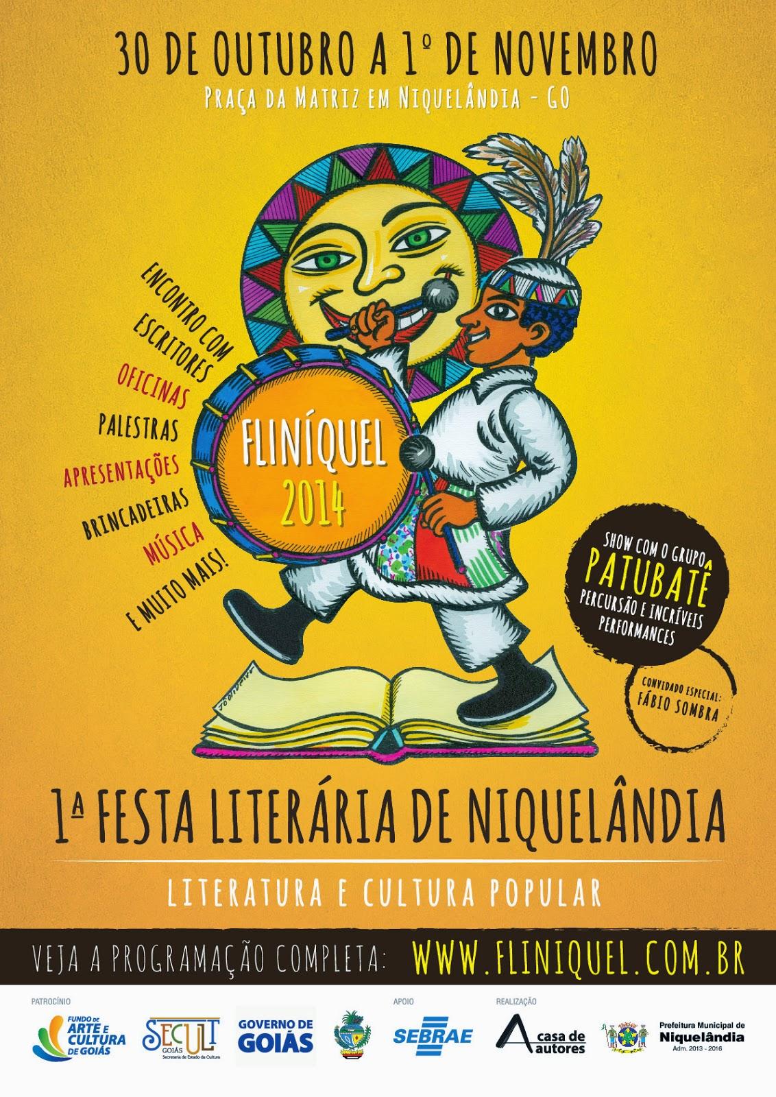 Fliníquel - Feira Literária de Niquelândia