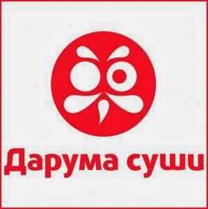 Logo name daruma sushi nation russian federation client daruma sushi