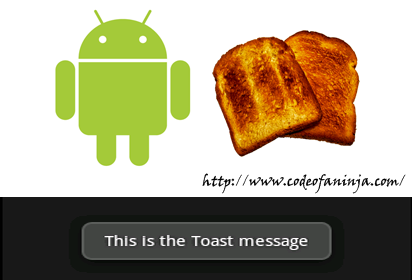 Android Toast Tutorial