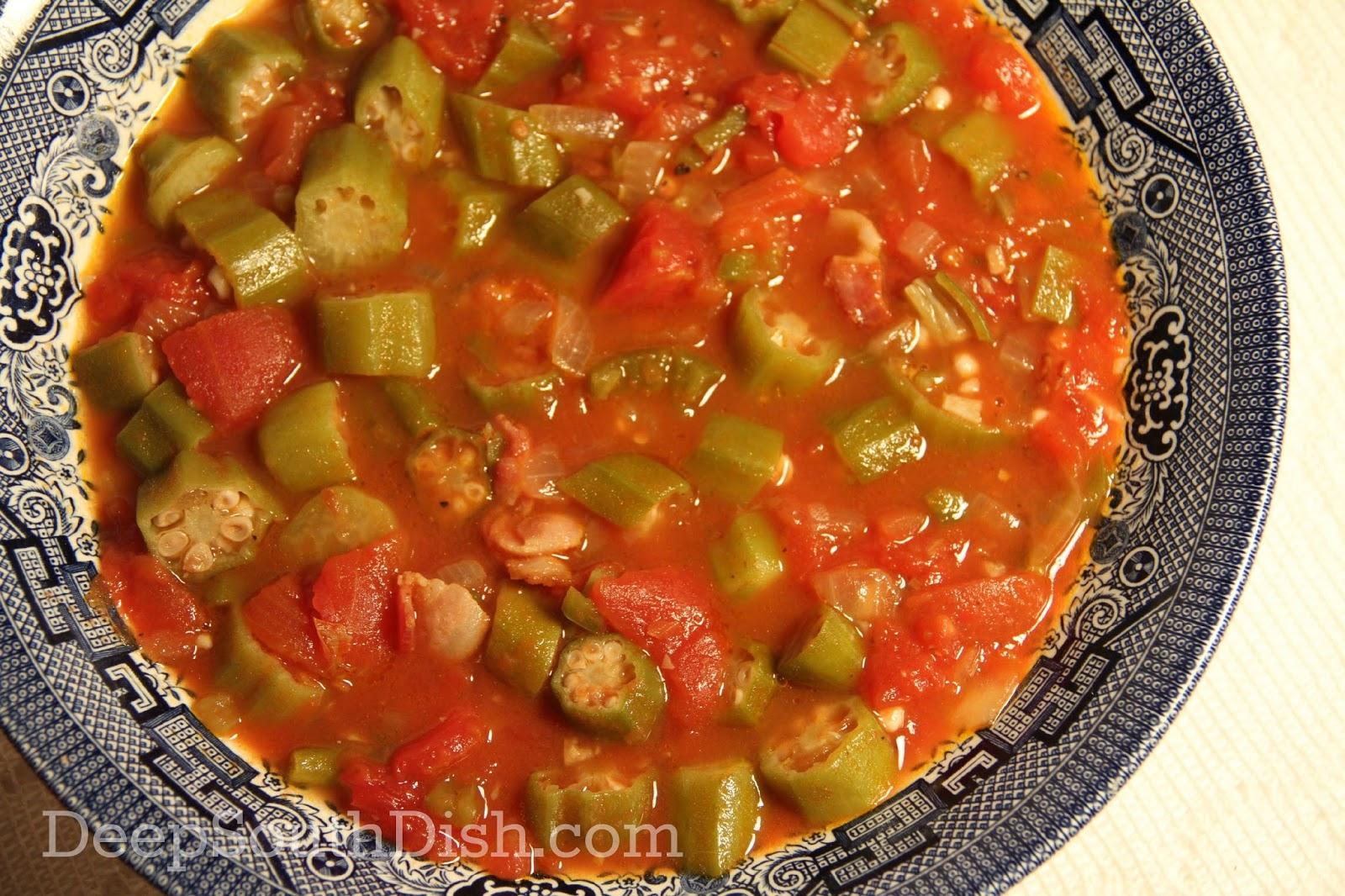 Deep South Dish: Steamed Okra