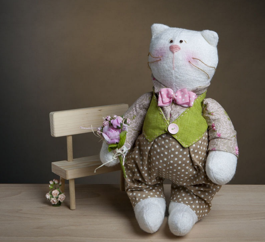 Мягкая игрушка и кукла  мастер класс