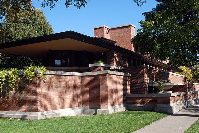Casa robie chicago frank lloyd wright 1909 blog for Blog arquitectura y diseno
