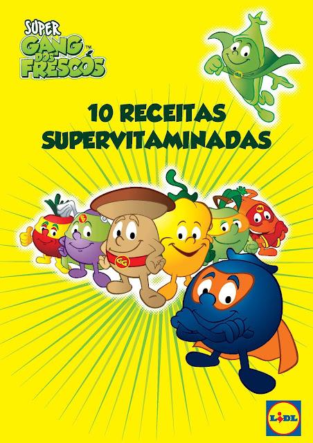 E-book Gang dos Frescos - 10 receitas super vitaminadas